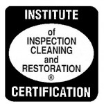 Carpet cleaning IICRC logo