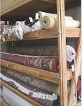 Oriental rugs storage